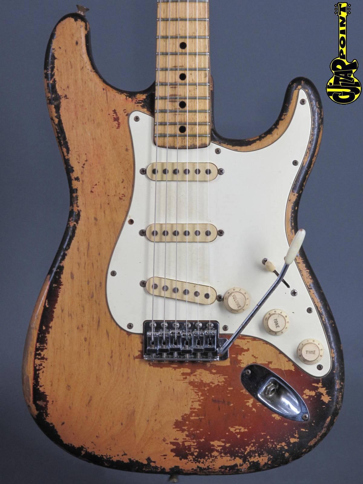 """1973 Fender Stratocaster - 3t-Sunburst  ...""""Rory"""" !"""