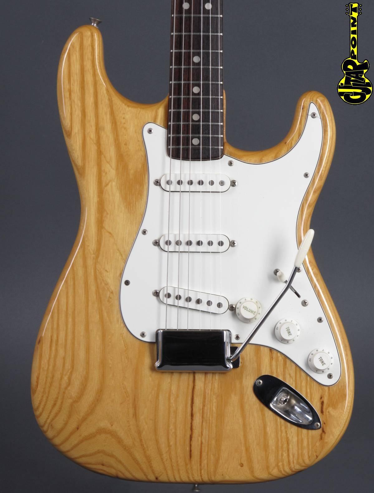 1973 Fender Stratocaster - Natural  =  Mint !!!