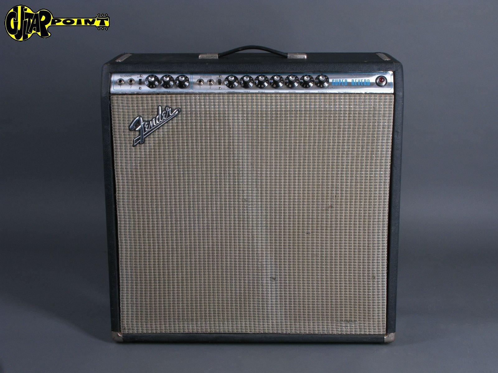 "1974 Fender Super Reverb - 4x10"""