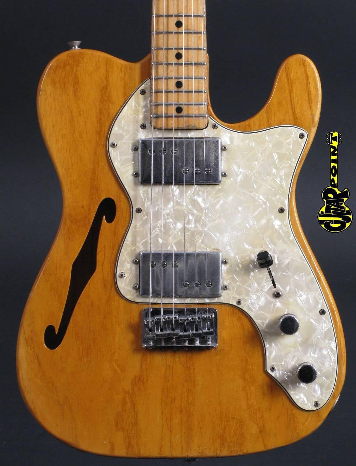 1973 Fender Telecaster Thinline II - Natural Ash