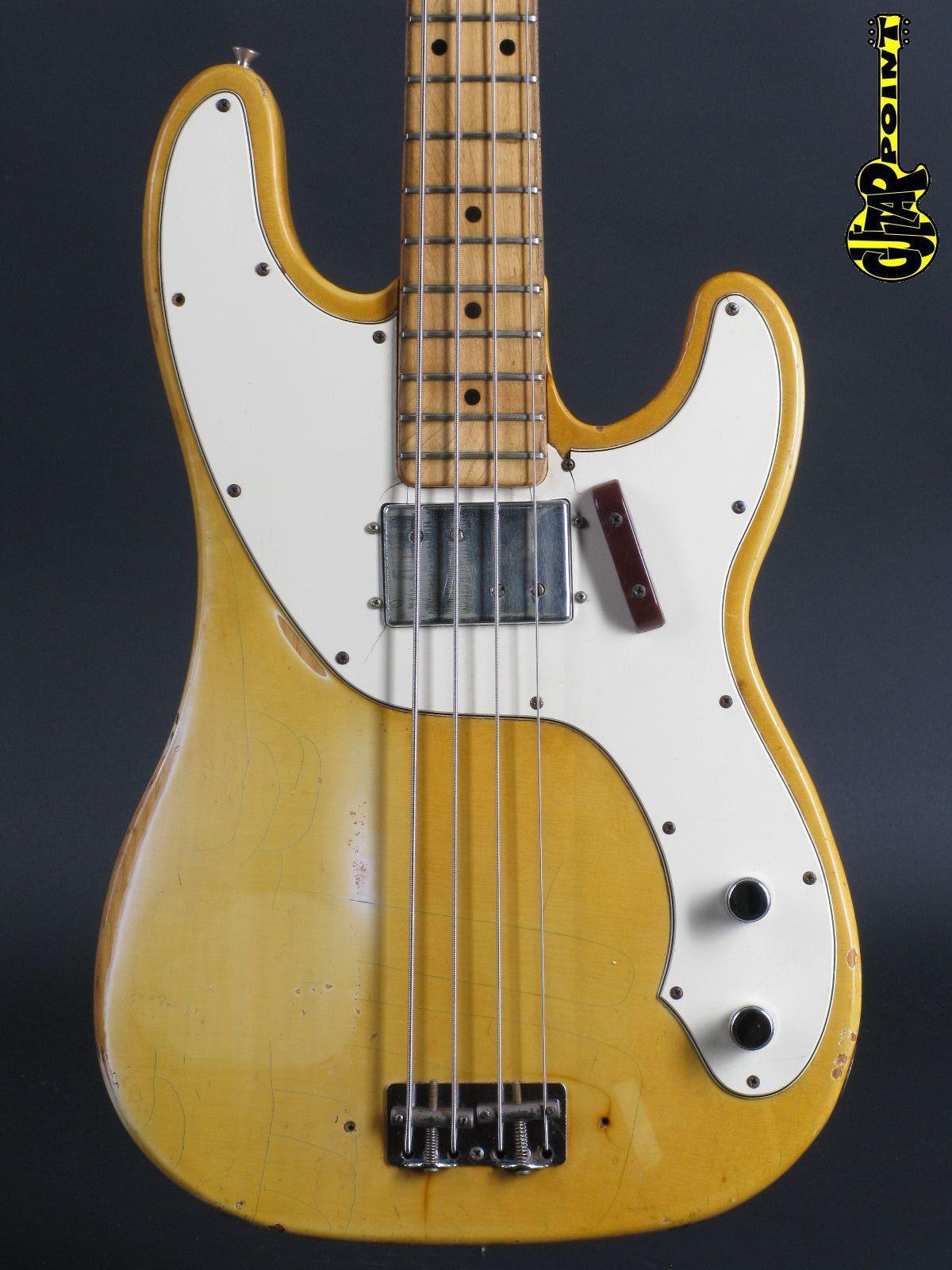 1973 Fender Telecaster Bass - Blond