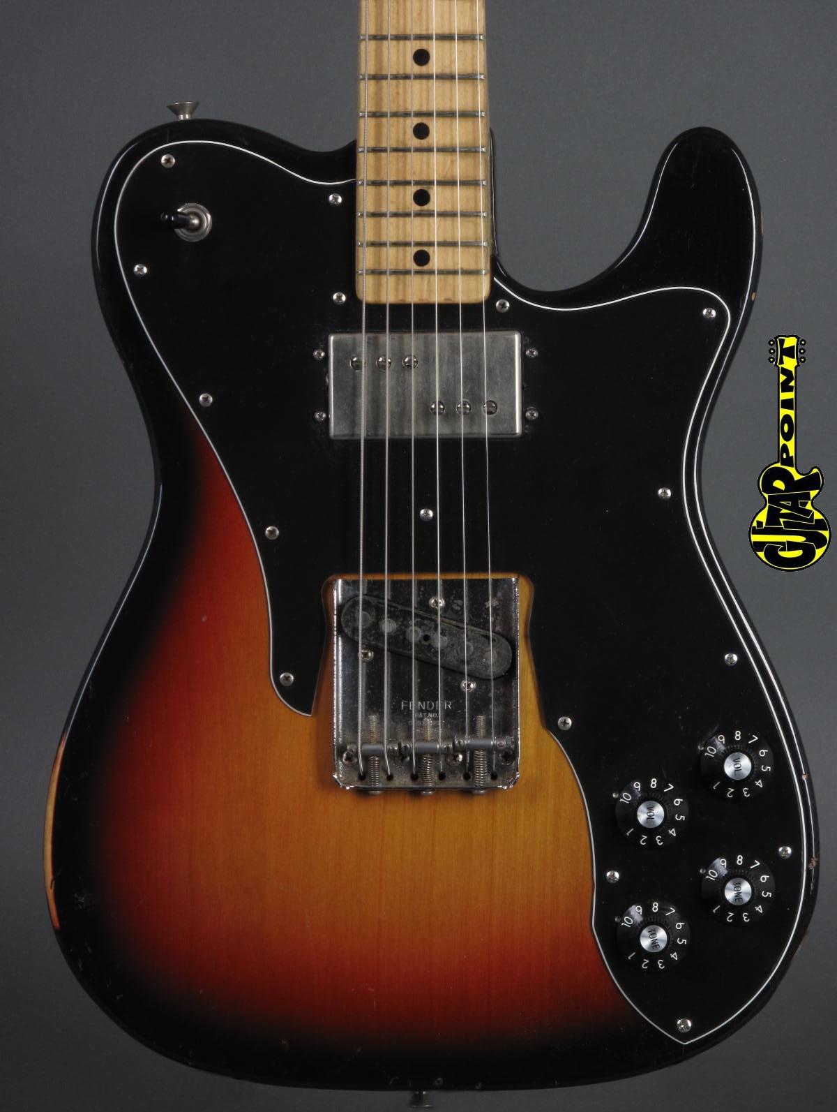 1973 Fender Telecaster Custom -  3-tone Sunburst
