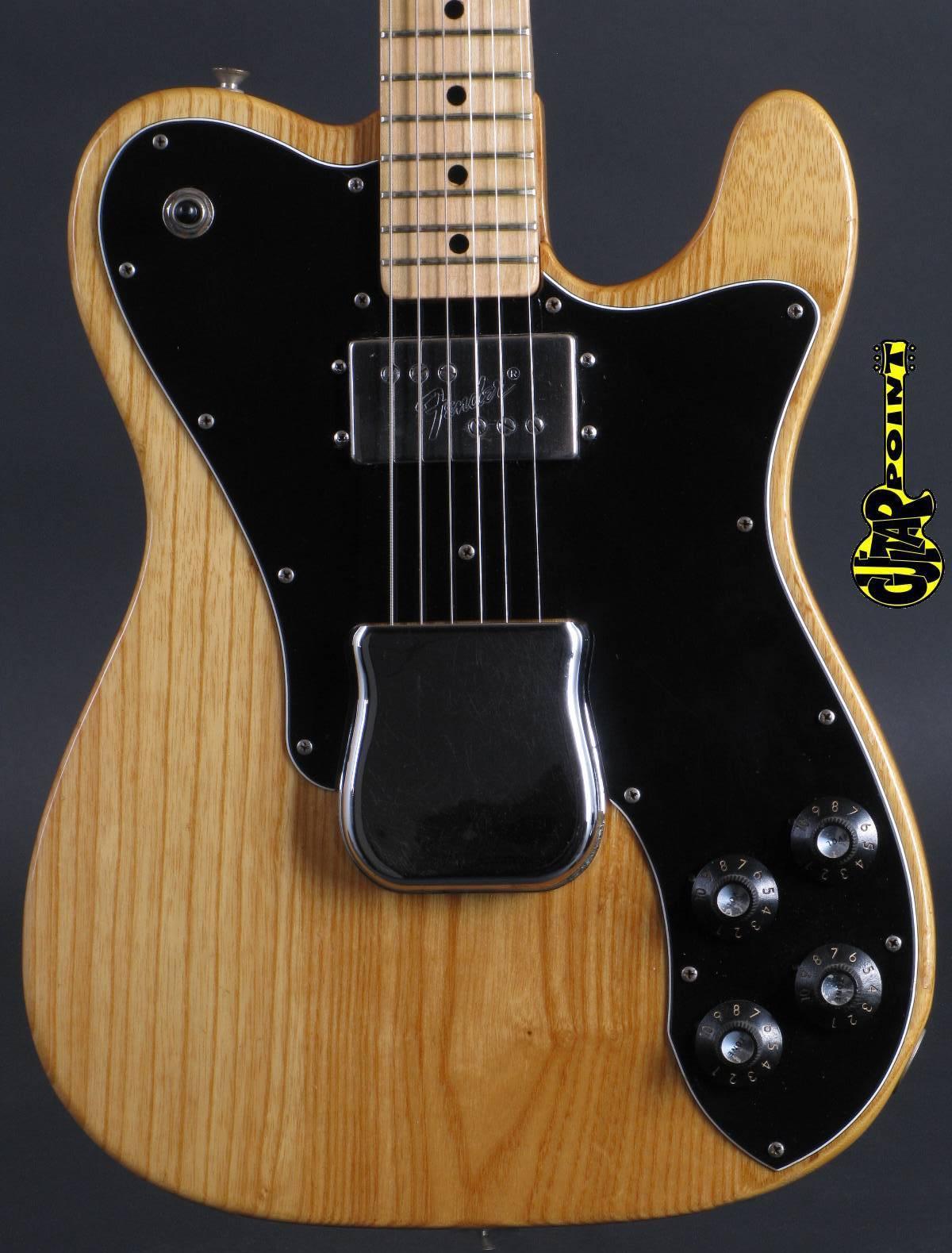 1973 Fender Telecaster Custom -  Natural
