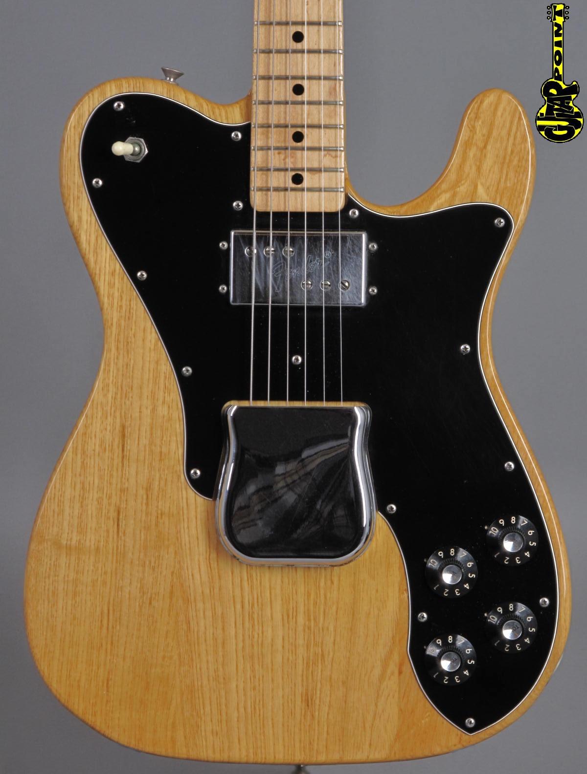 1973 Fender Telecaster Custom -  Natural   ...Case Candy !!!