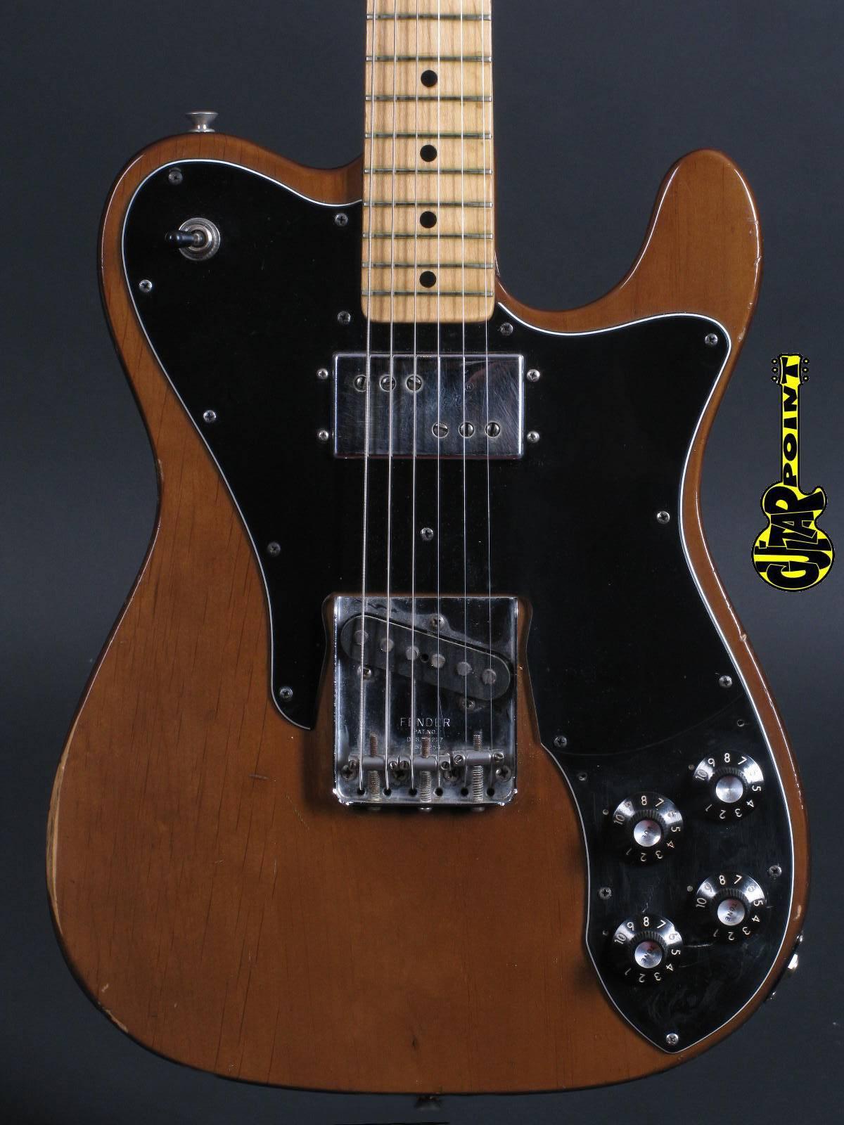1973 Fender Telecaster Custom -  Mocca
