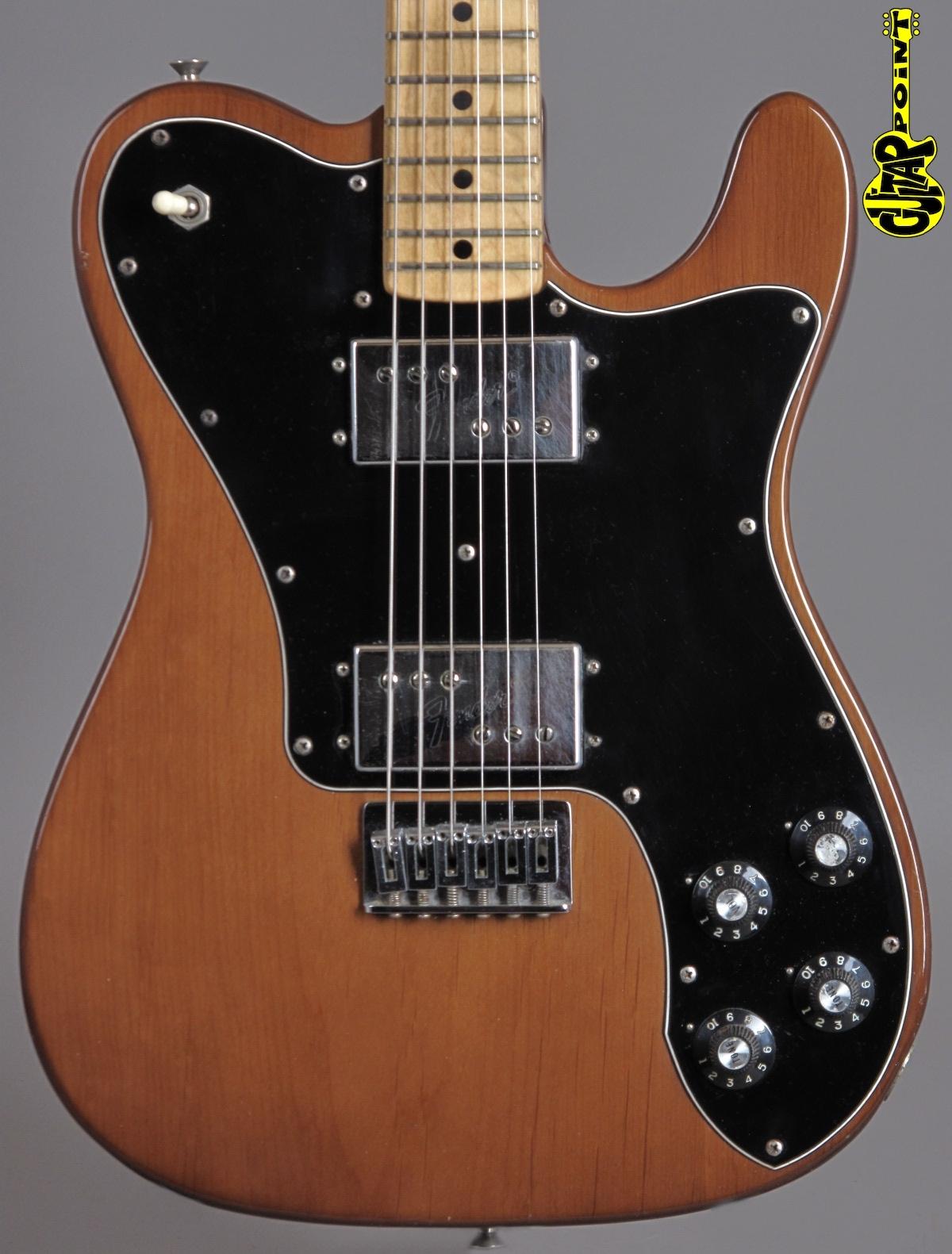 1973 Fender Telecaster DeLuxe - Mocca