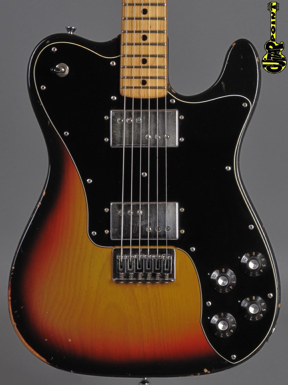 1973 Fender Telecaster DeLuxe - 3-tone Sunburst