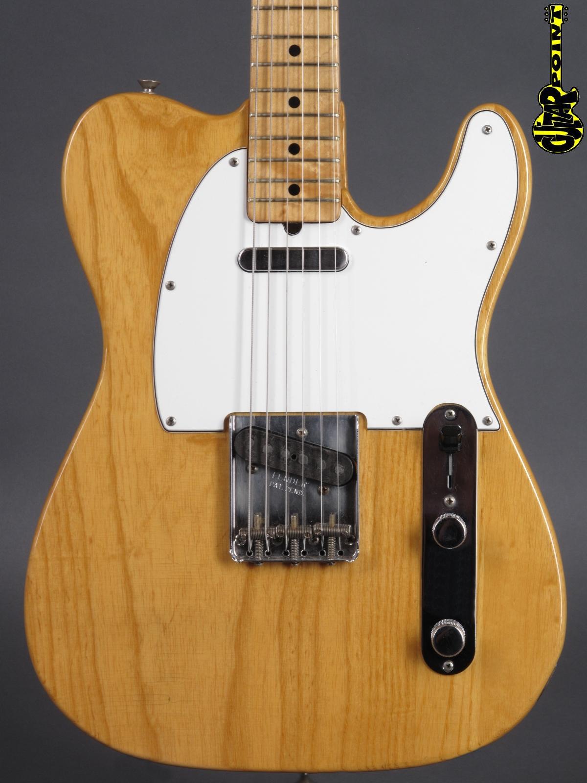 1973 Fender Telecaster - Natural