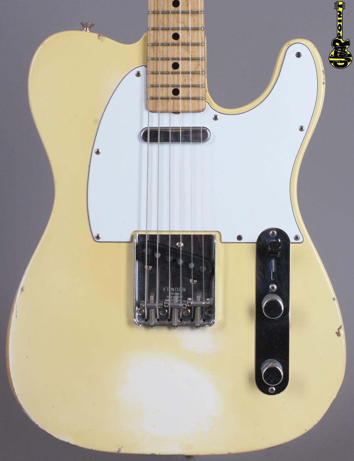 1973 Fender Telecaster - Olympic White