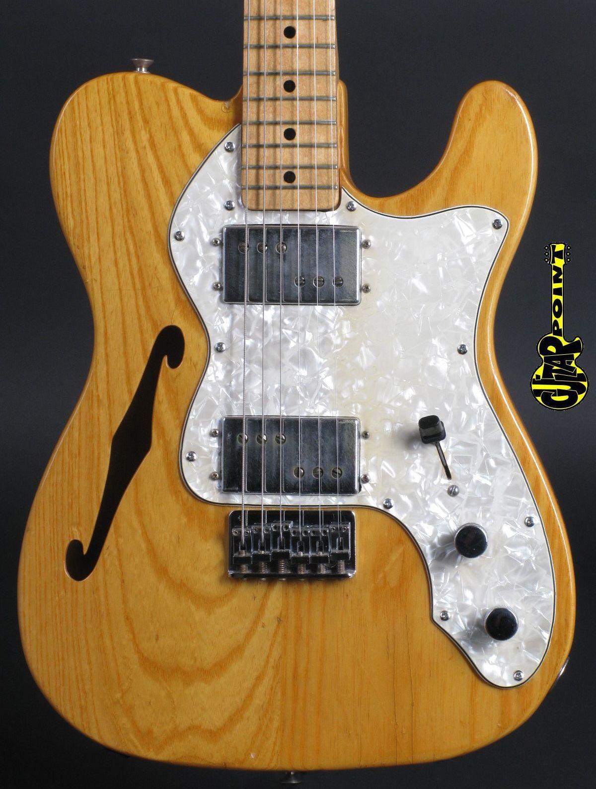 1973 Fender Telecaster Thinline II - Natural