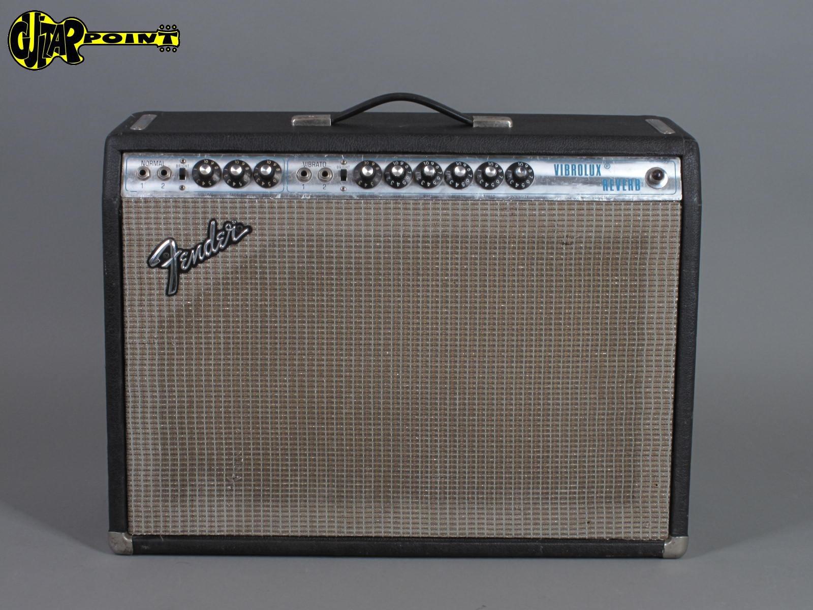 "1971 Fender Vibrolux 2x10"" Silverface"