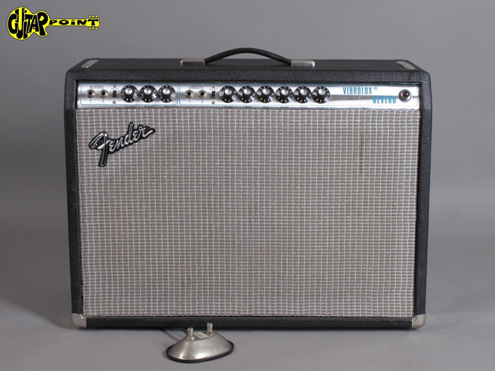 """1973 Fender Vibrolux Reverb 2x12"""" Amp  ...Excellent+ !"""