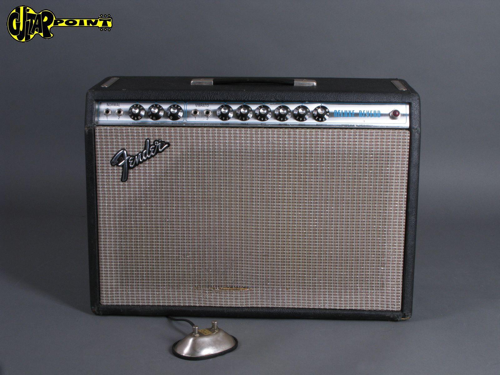 1974 Fender Deluxe Reverb Amp