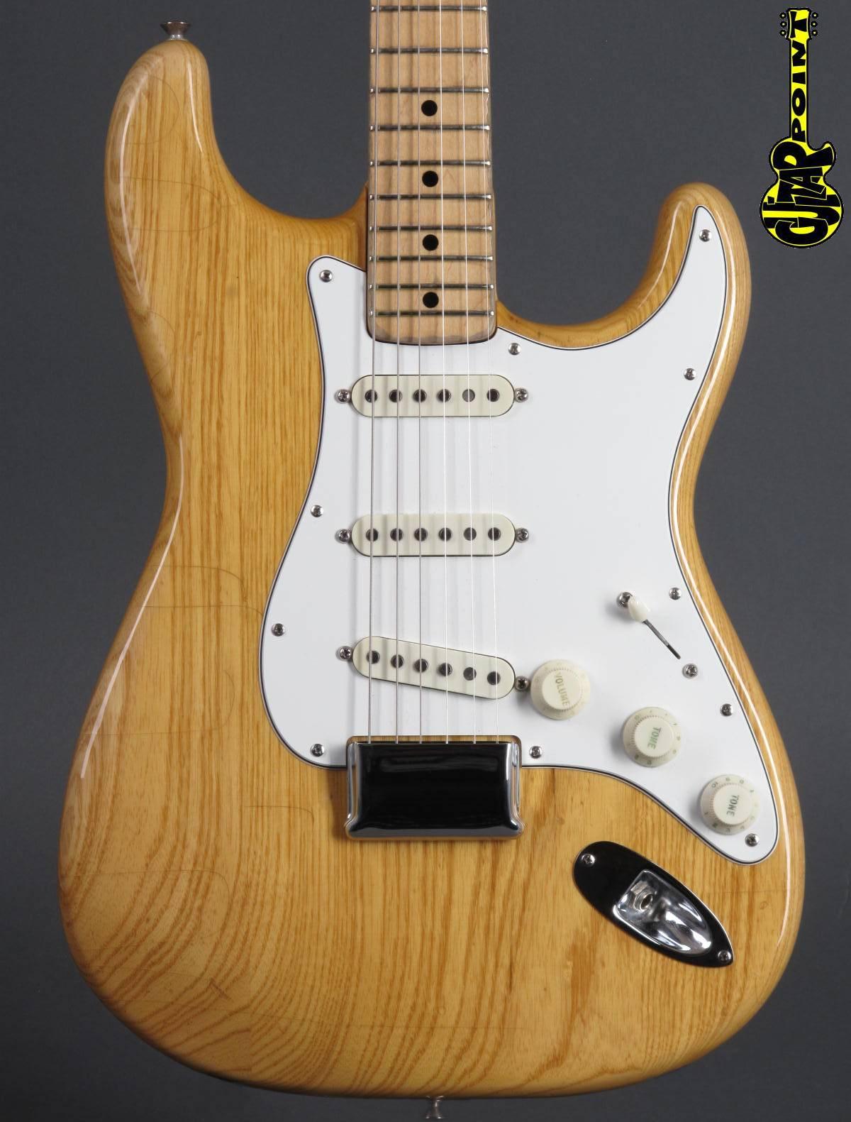 1974 Fender Stratocaster Hardtail - Natural