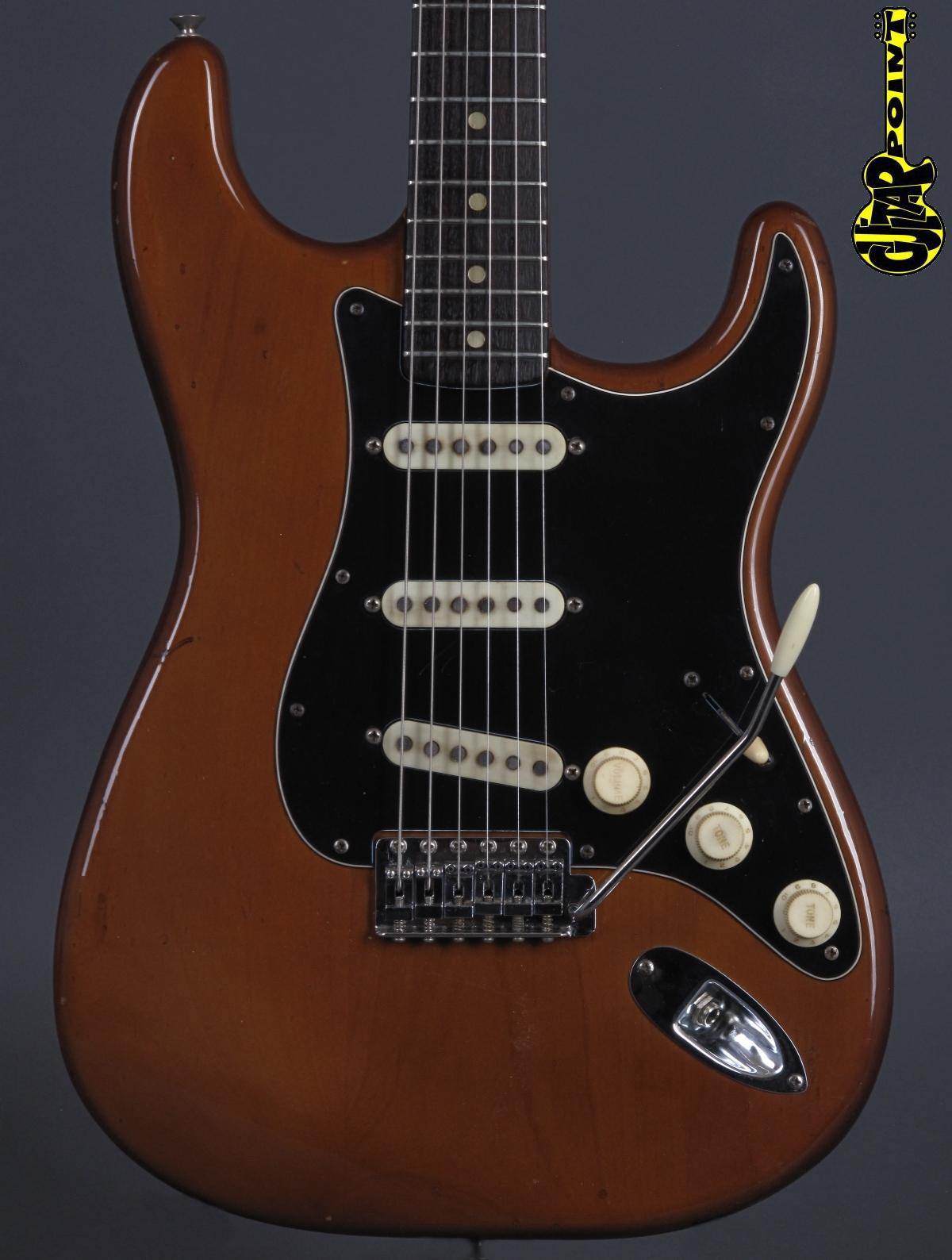 1974 Fender Stratocaster - Mocha / Rosewood Neck