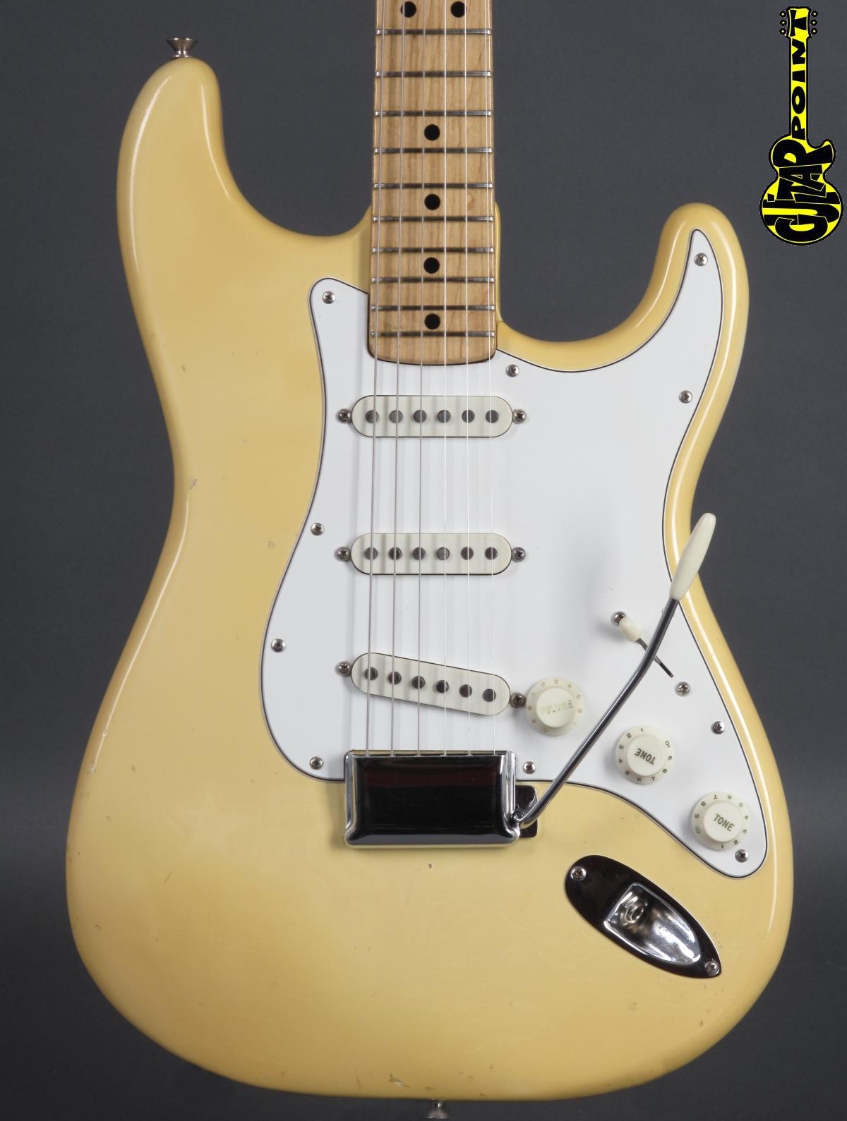 1974 Fender Stratocaster - Olympic White   ...only 3,28Kg !