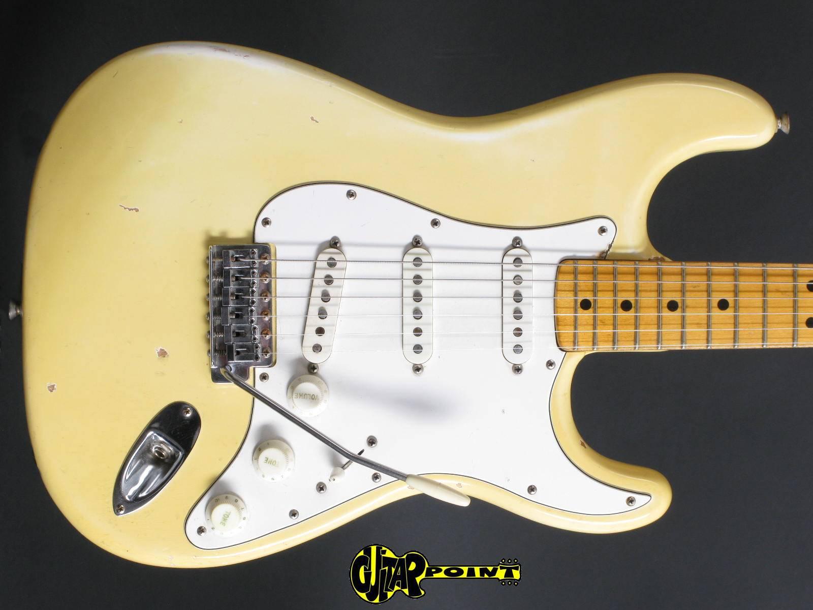 1974 Fender Stratocaster - Olympic White