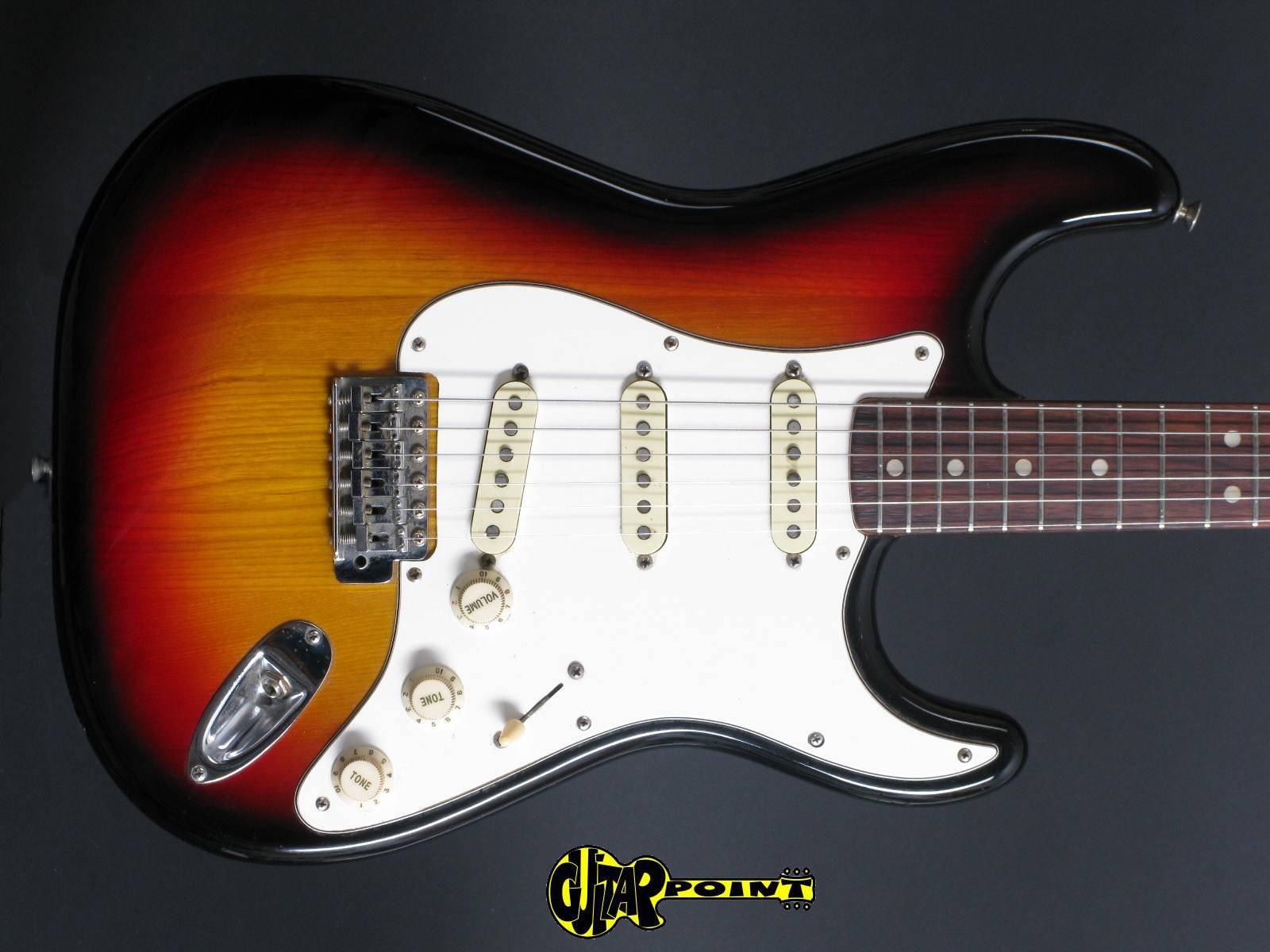 1974 Fender Stratocaster - Sunburst