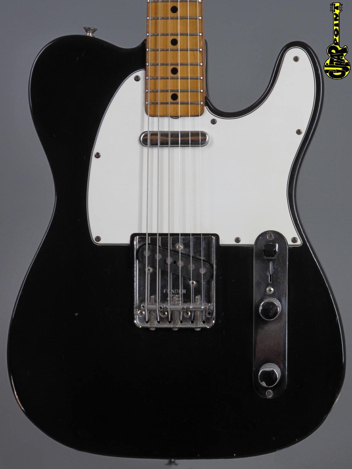 1974 Fender Telecaster - Black ...rare !!!