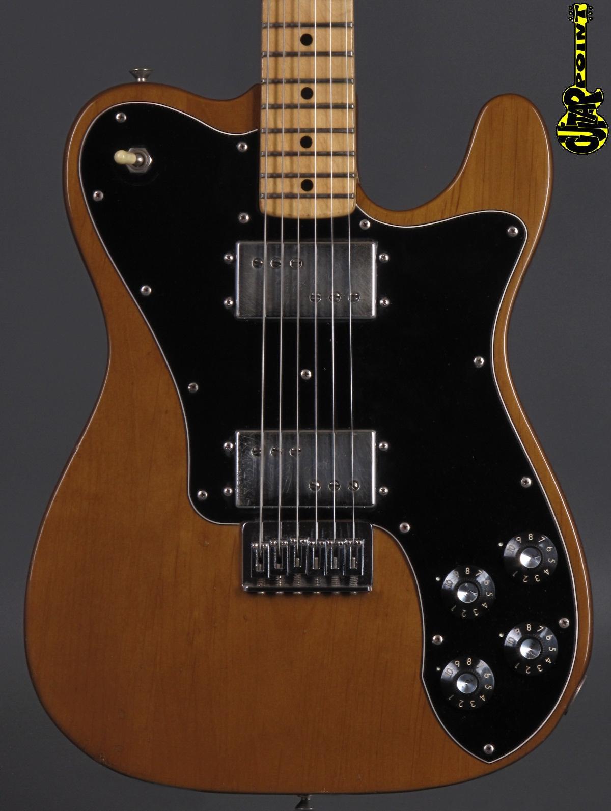 1974 Fender Telecaster DeLuxe - Walnut