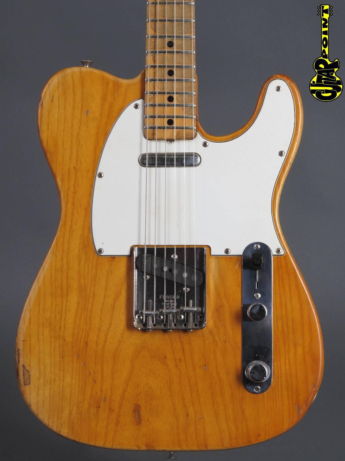 1974 Fender Telecaster - Natural = Mojo !!!