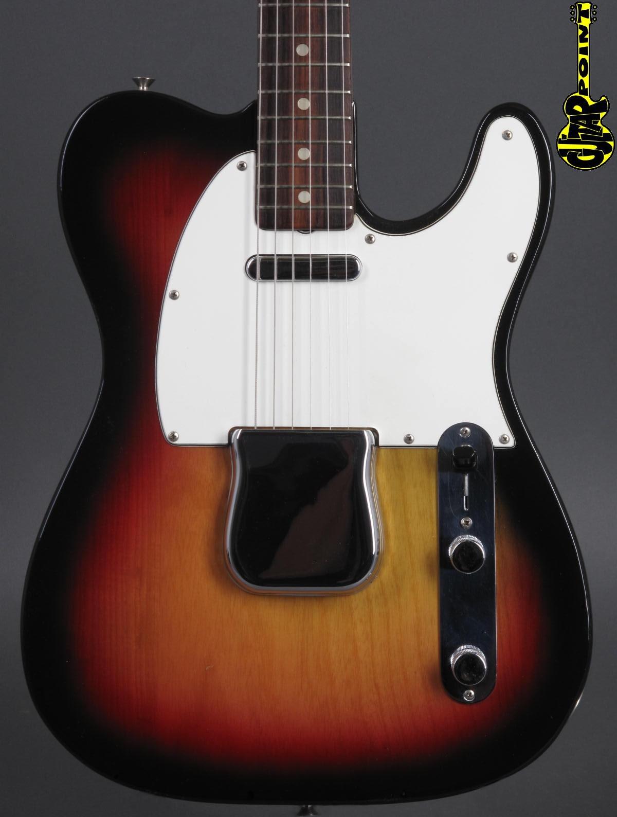 1974 Fender Telecaster -  3-tone Sunburst  ...mint & rare !