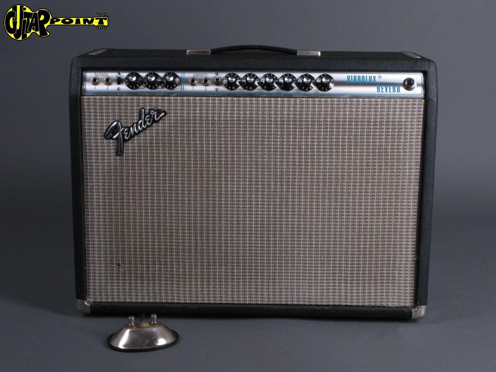 1974 Fender Vibrolux  Reverb Amp