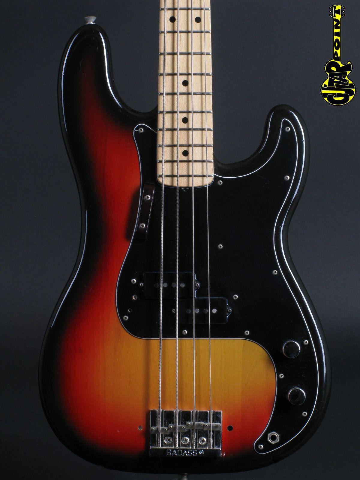 1975 Fender Precision Bass - 3-tone Sunburst