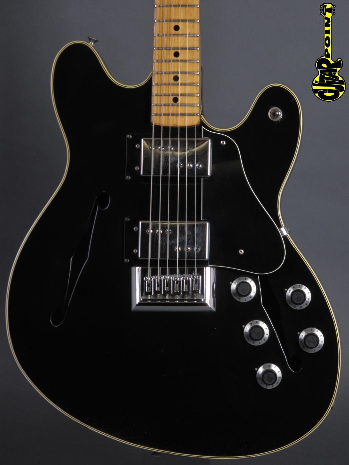 1975 Fender Starcaster - Black