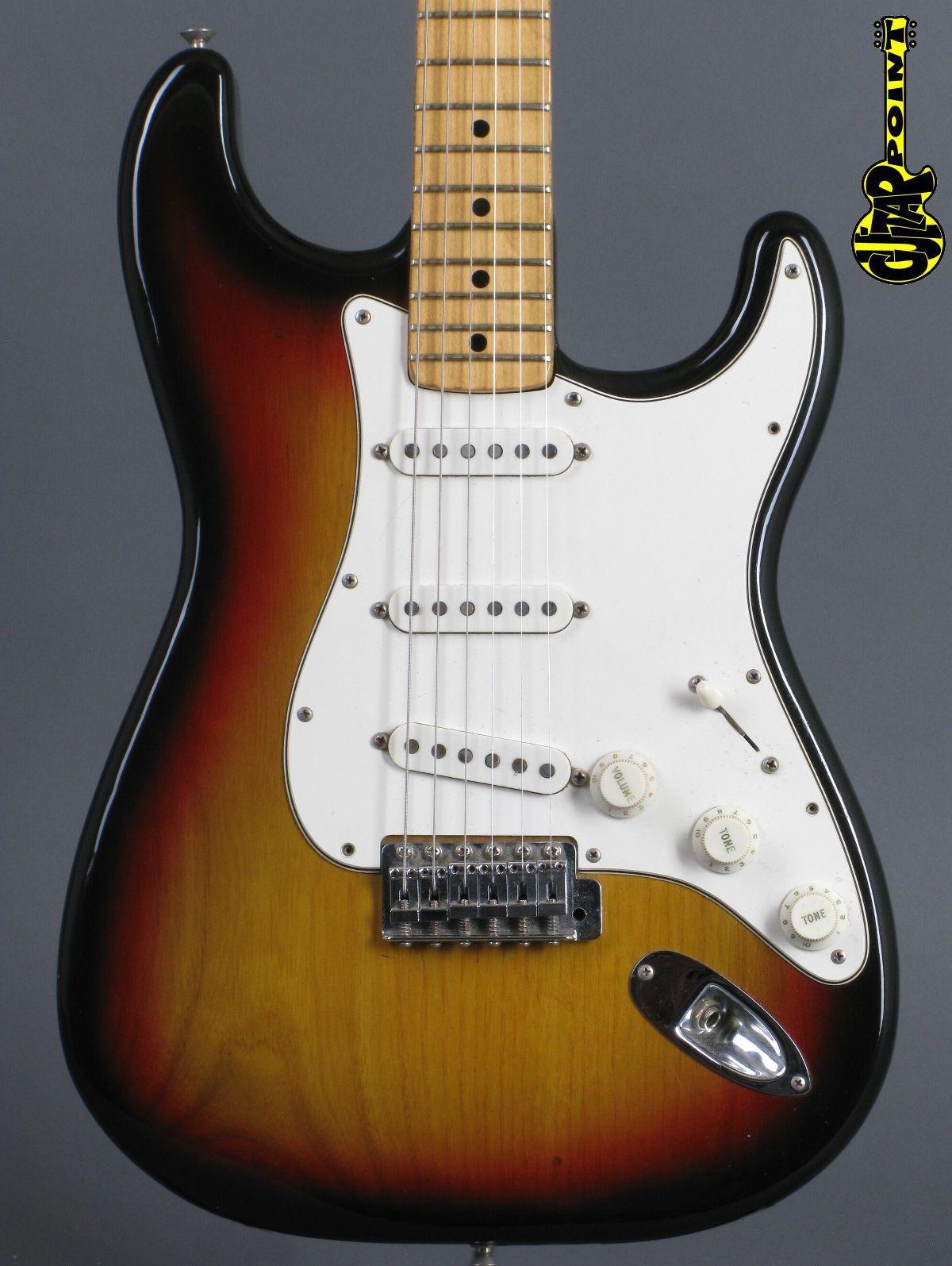 1975 Fender Stratocaster - 3-tone Sunburst