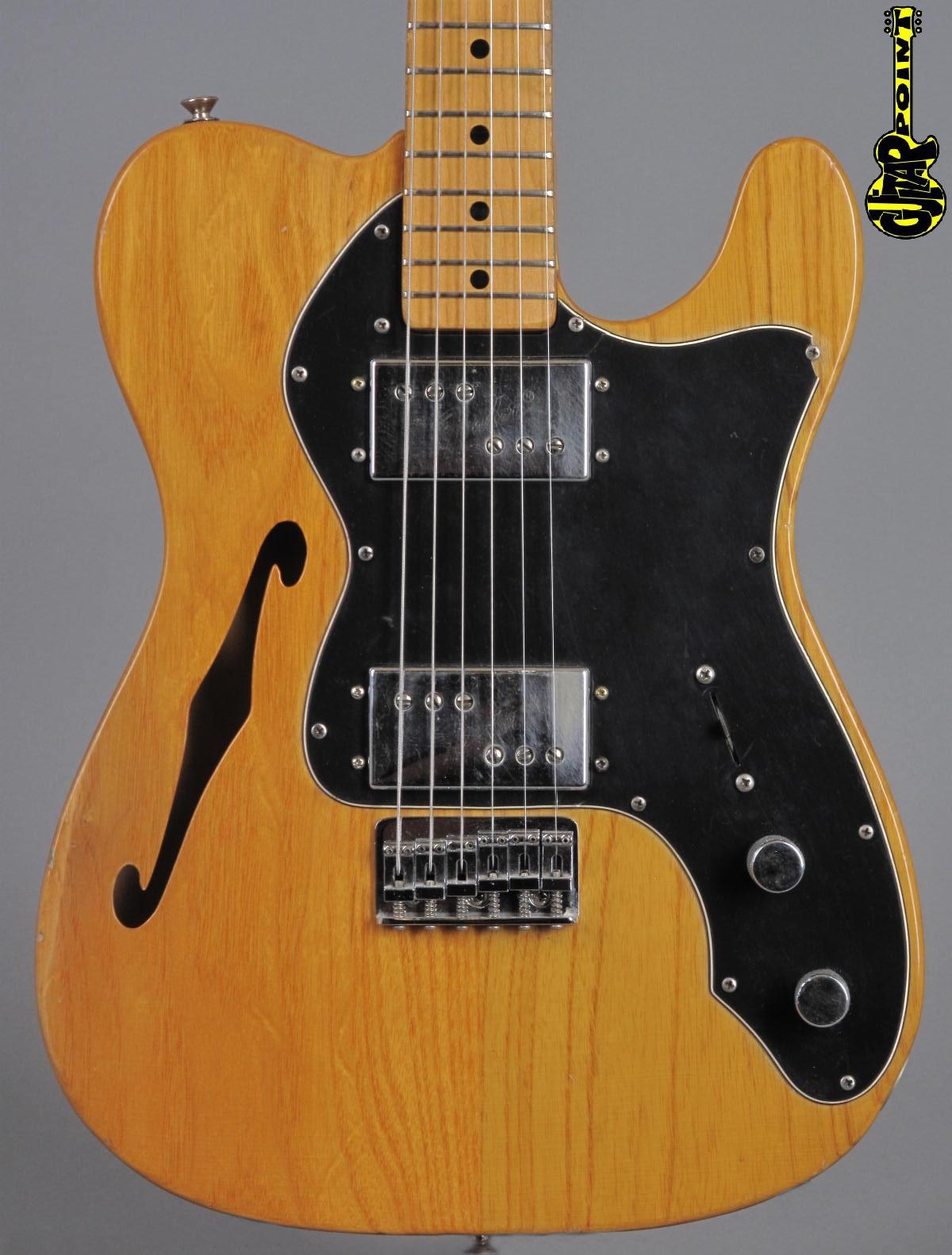 1975 Fender Telecaster Thinline II - Natural