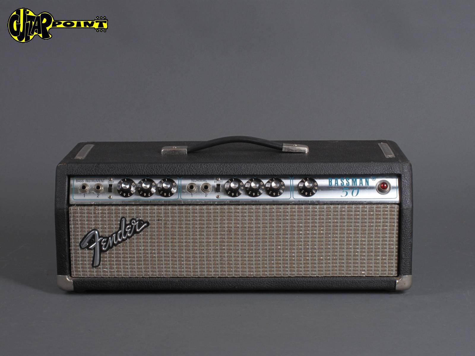 1976 Fender Bassman - 50Watt