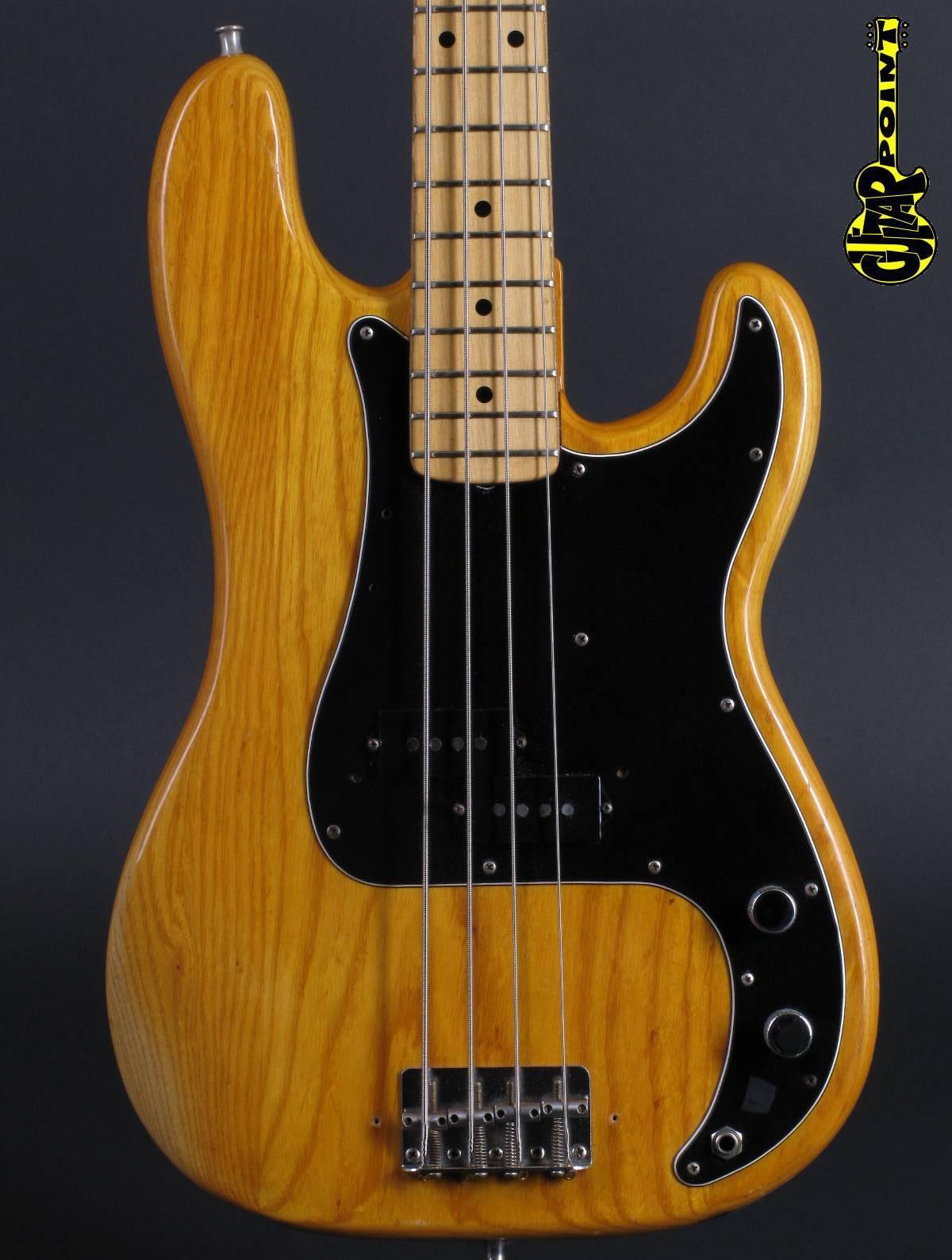 1976 Fender Precision Bass - Natural