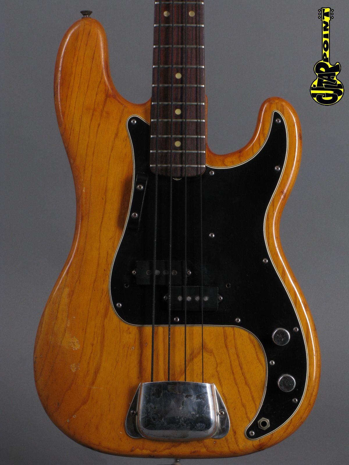 1976 Fender Precision Bass - Natural   ...lightweight !!!