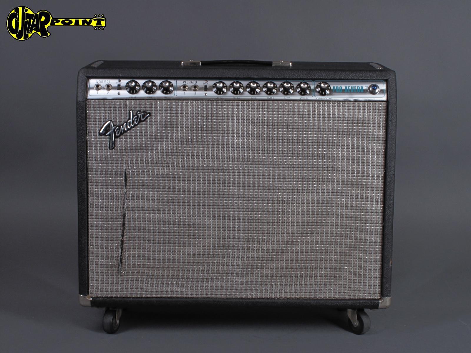 1976 Fender Pro Reverb Amp