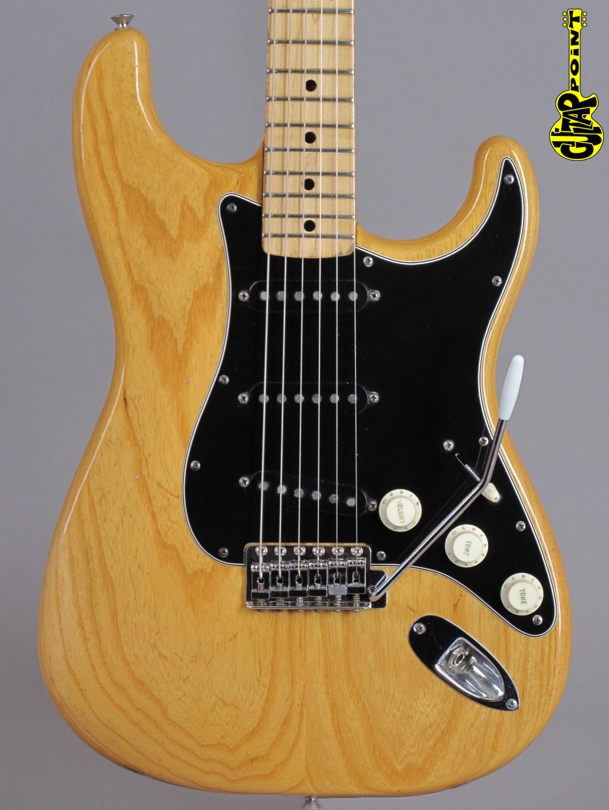1976 Fender Stratocaster - Natural