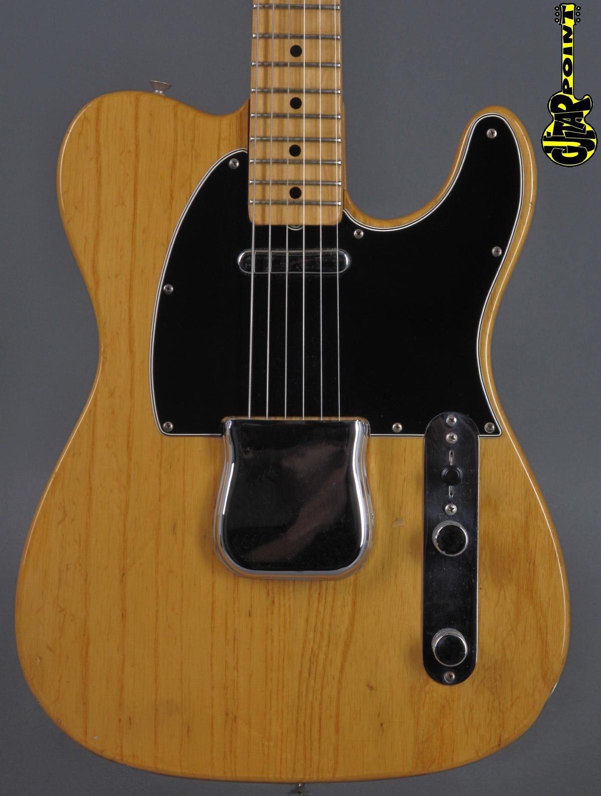 1976 Fender Telecaster - Natural   ...lightweight !