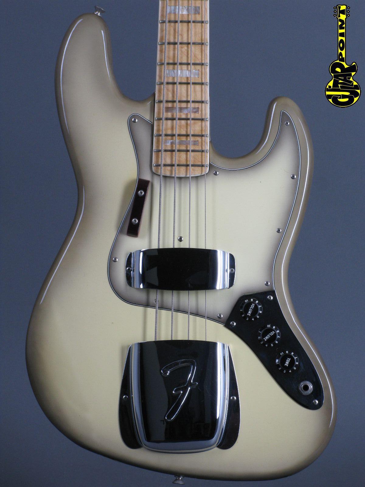 1977 Fender Jazz Bass - Antigua ( MINT + Hangtags !!!)