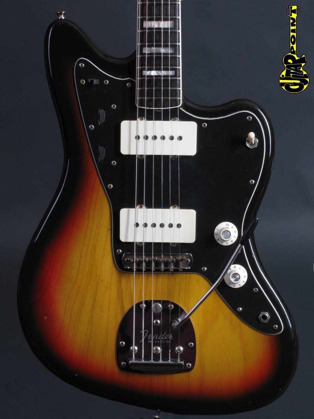 1977 Fender Jazzmaster - 3-tone Sunburst