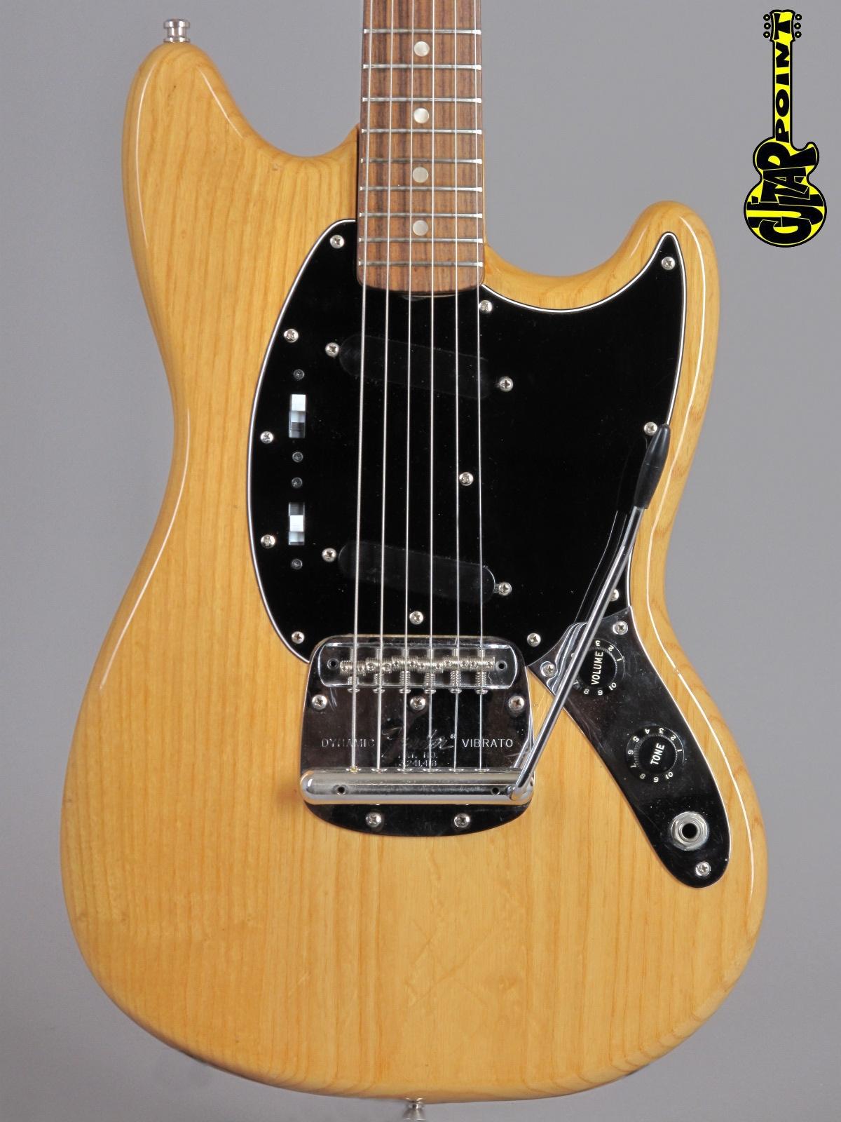1977 Fender Mustang - Natural