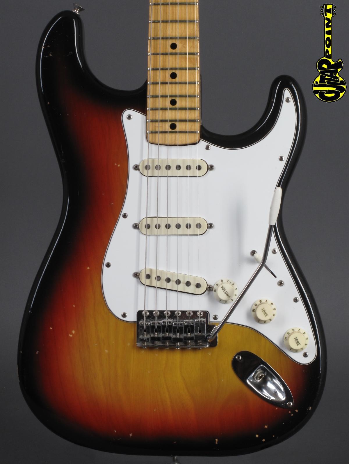 1977 Fender Stratocaster - 3-tone Sunburst