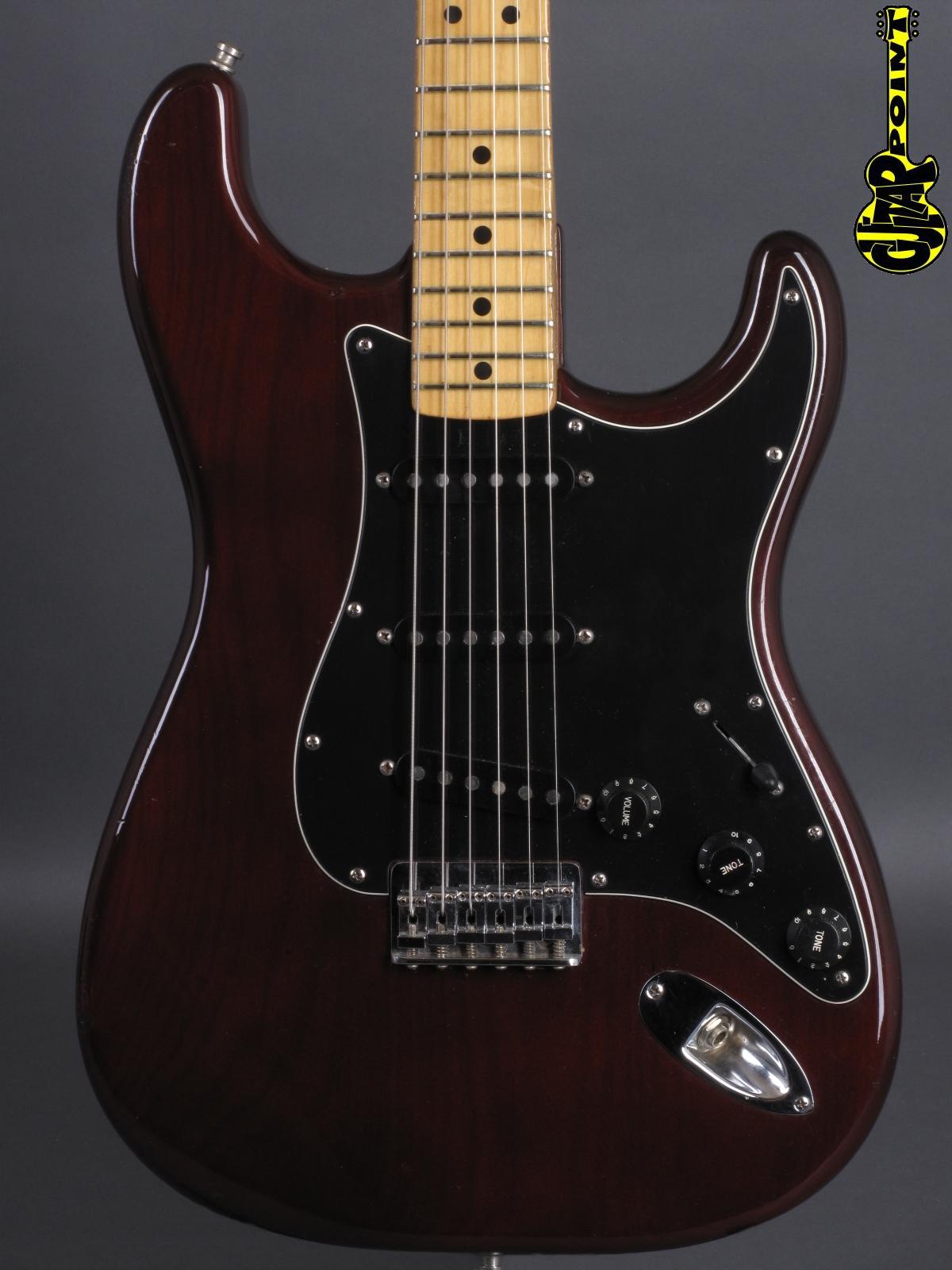 1977 Fender Stratocaster - Burgundy Mapleneck
