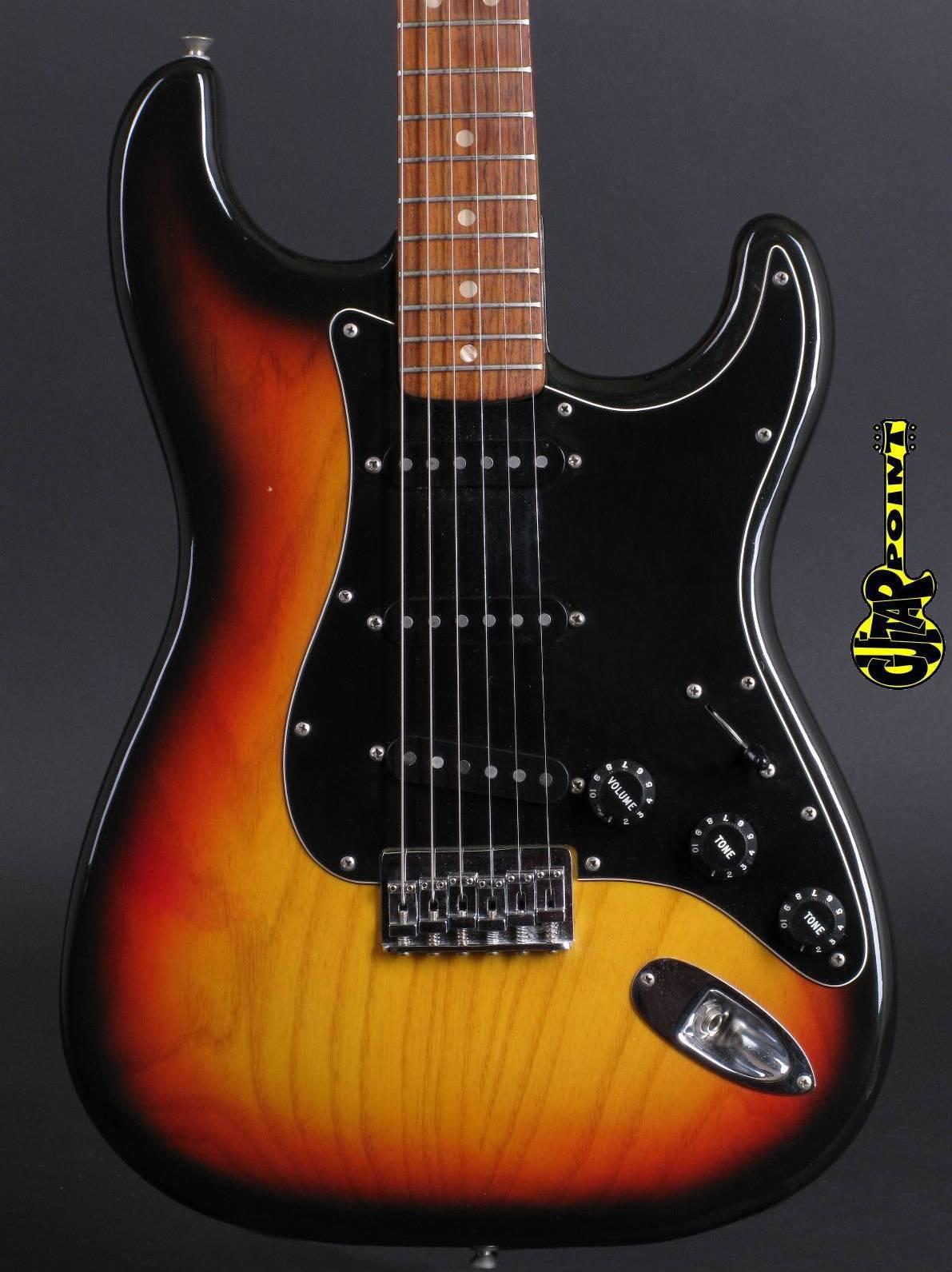 1977 Fender Stratocaster - 3t-Sunburst / Mint incl. hangtags!