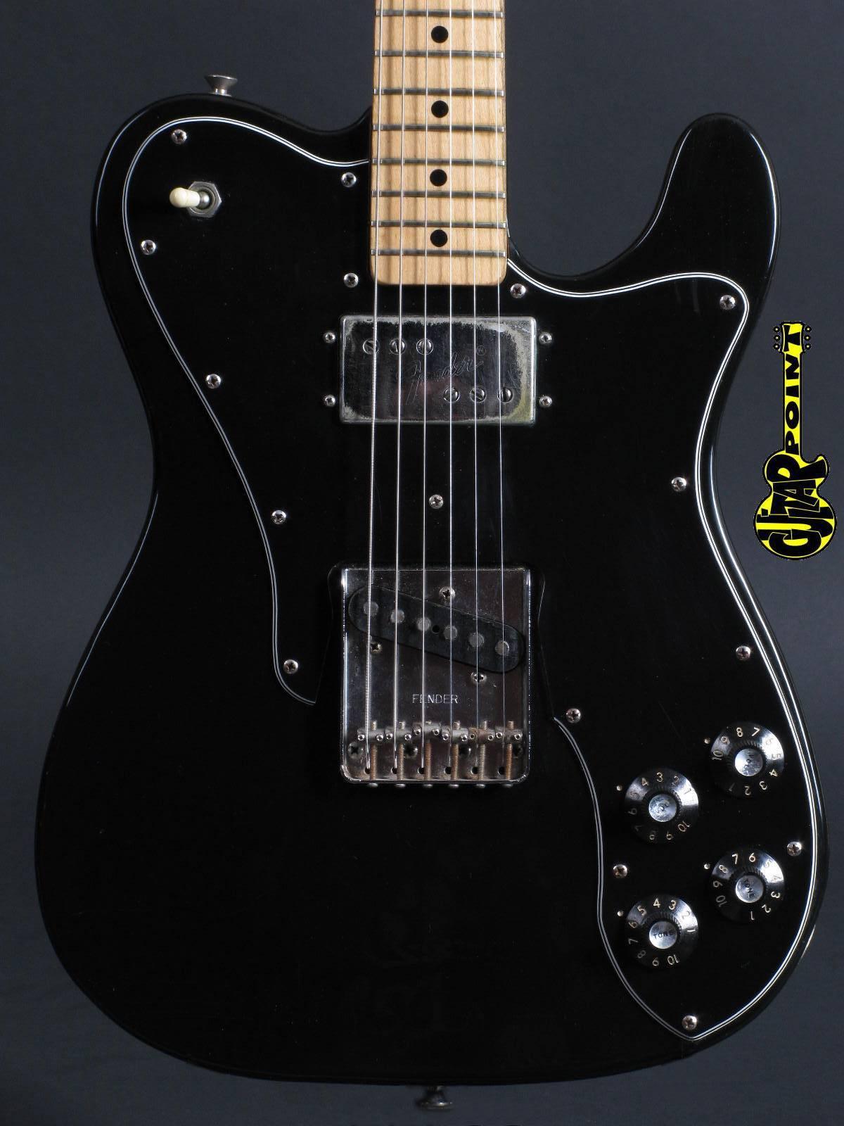 1977 Fender Telecaster Custom -  Black