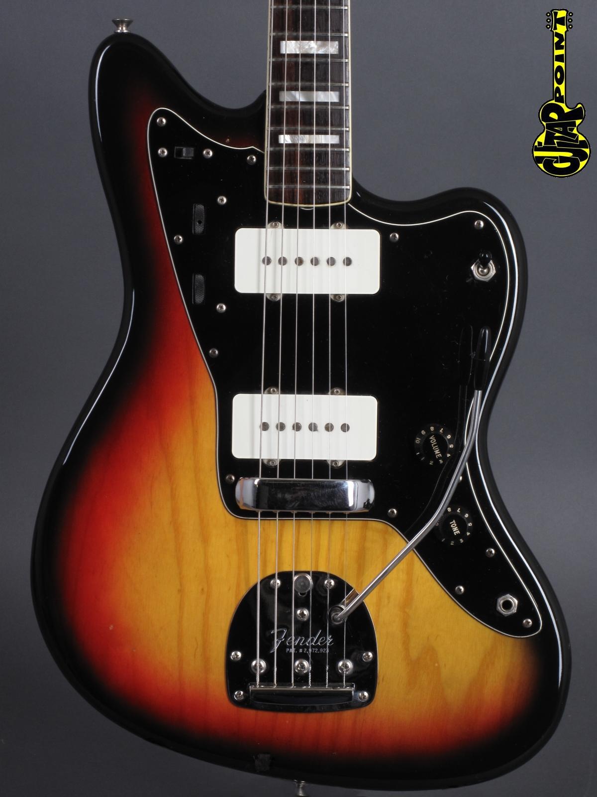 1978 Fender Jazzmaster - 3-tone Sunburst