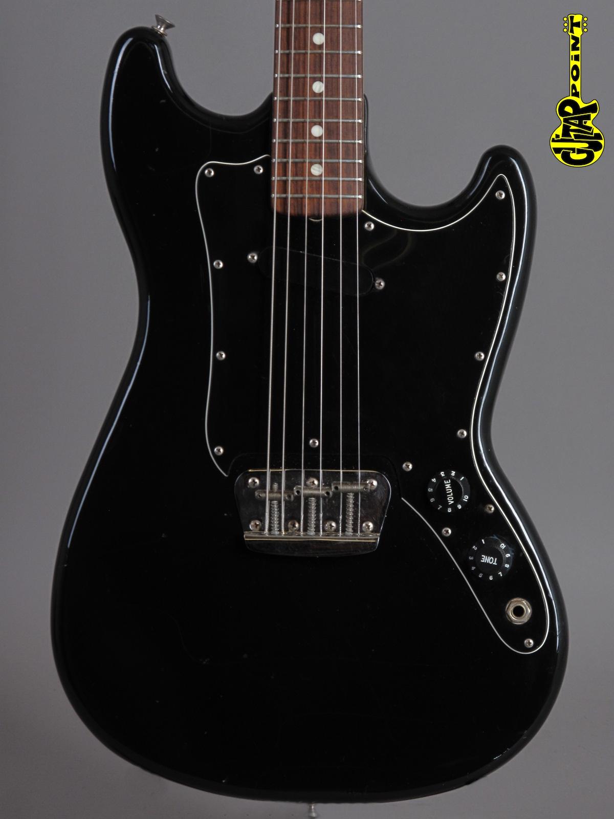 1978 Fender Musicmaster – Black