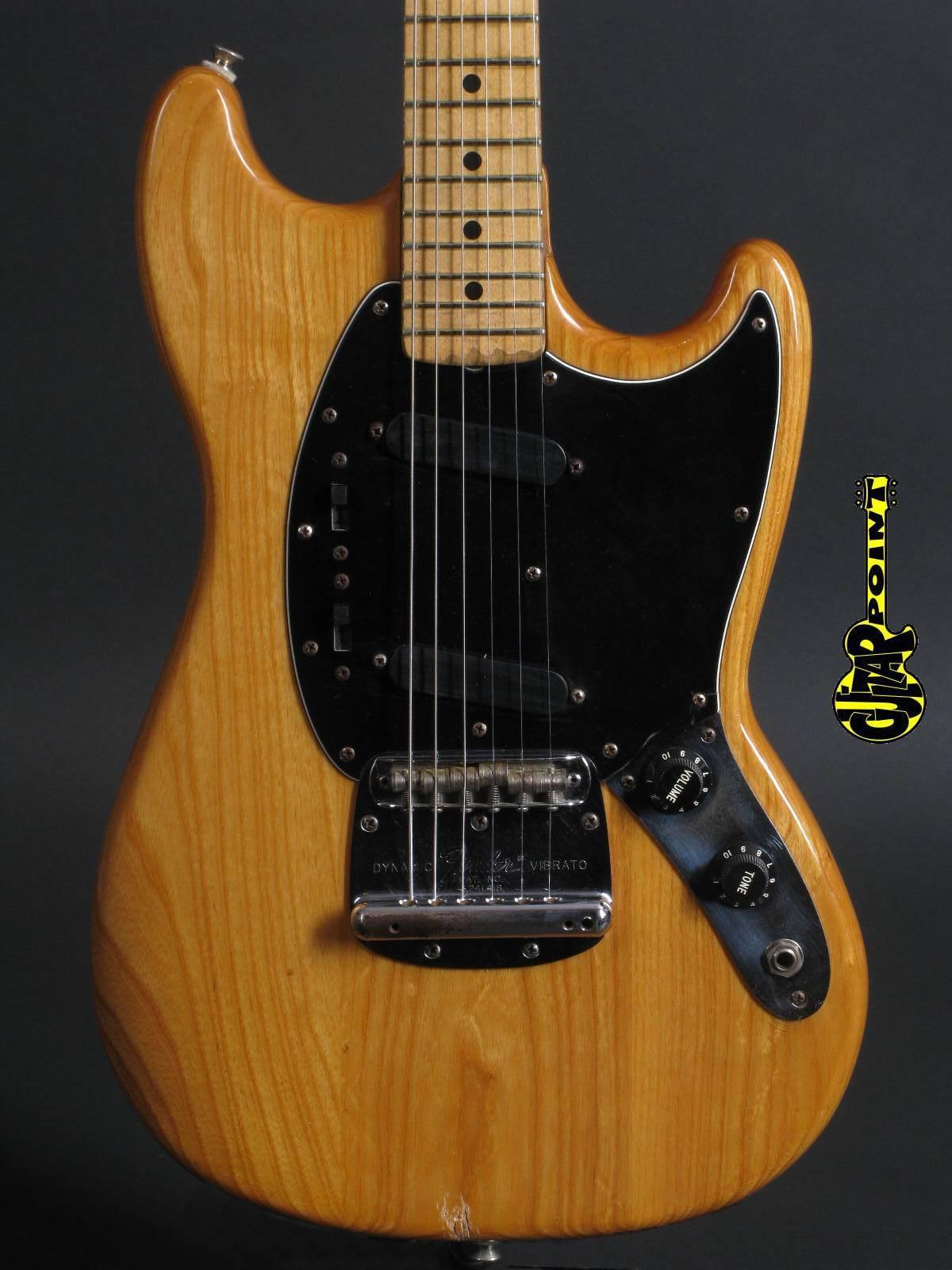 1978 Fender Mustang - Natural