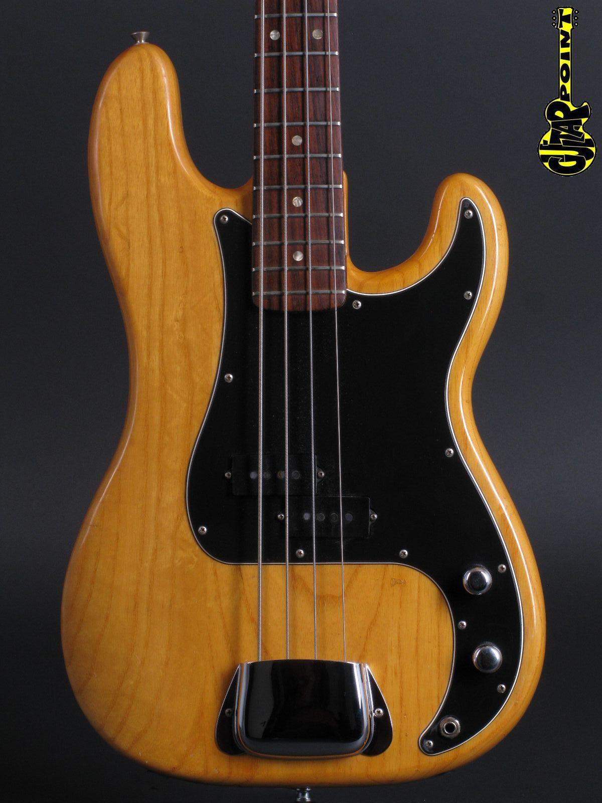 1978 Fender Precision Bass - Natural