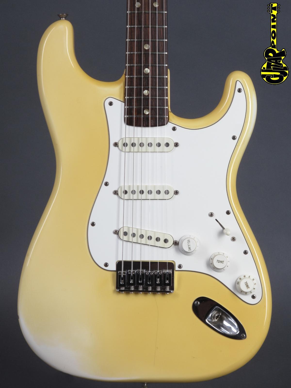 1978 Fender Stratocaster - Olympic White
