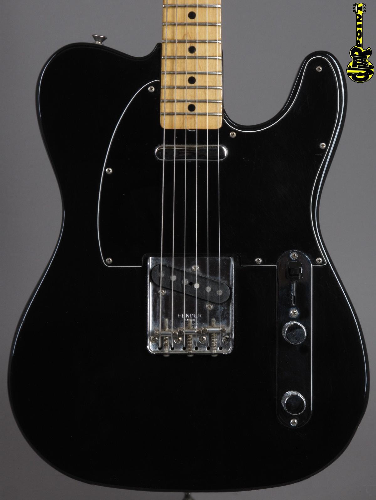1978 Fender Telecaster - Black